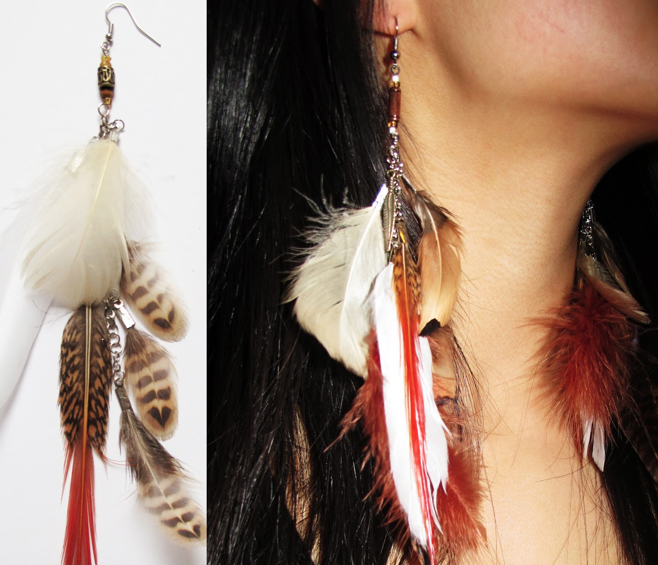 Giveaway The Feather Earring Glitter Inc Glitter Inc