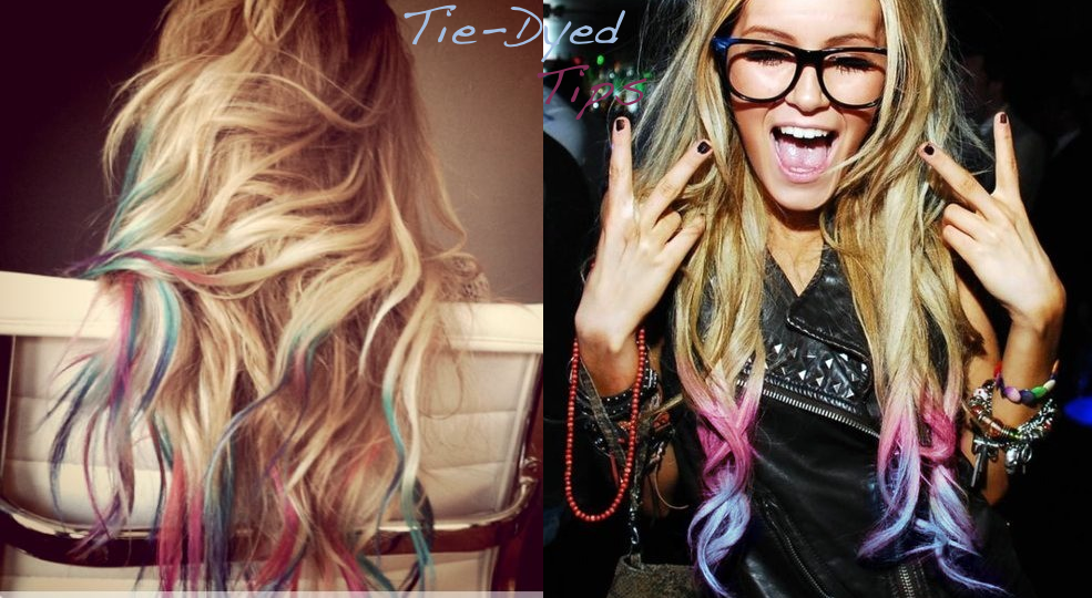 Tie Dye Hair Tips: How To Get Awesome Hair | Beauty Tutorial ...