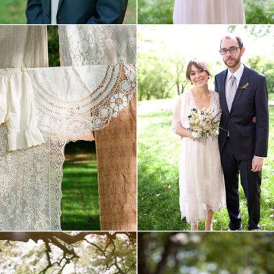 An Indie Vintage Wedding