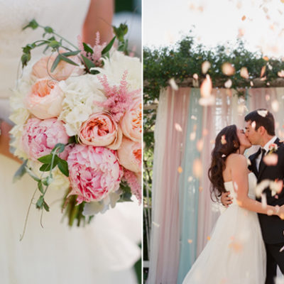 A Perfectly Pink Wedding