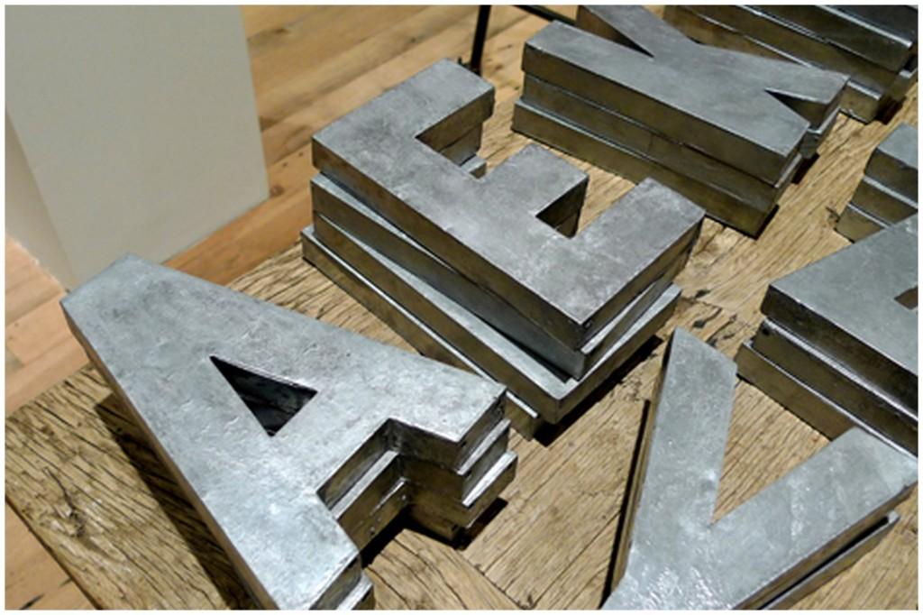diy zinc letters glitter inc