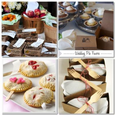 Wedding Pie Favors