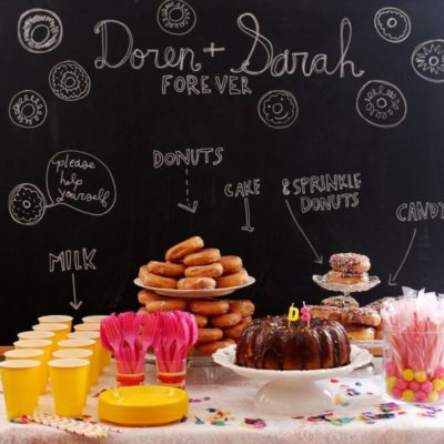 A Donut Themed Wedding Shower