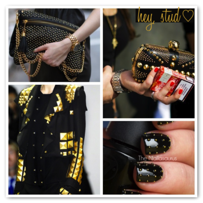 Inspiration: Gold Spikes
