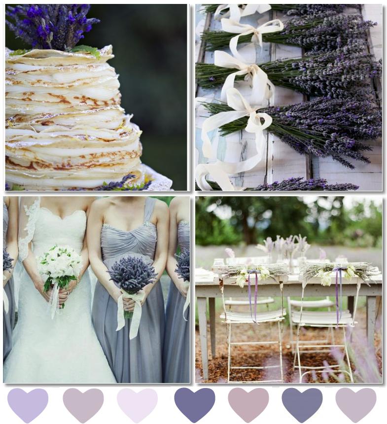 Lavender Wedding Centerpieces - Wedding Photography