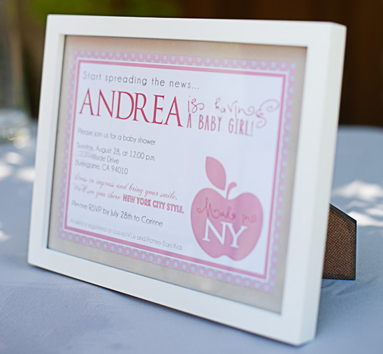Made In Ny Baby Shower Glitter Inc