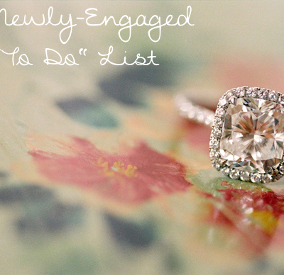 Newly Engaged To Do List