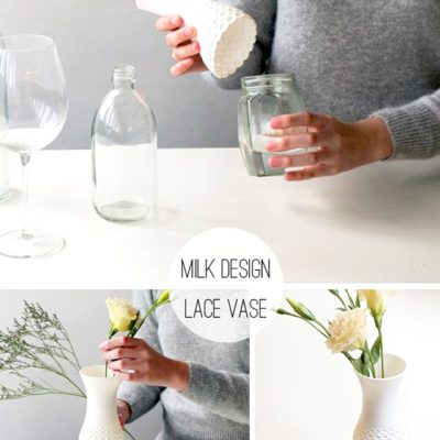 Lace Vase Glass Toppers