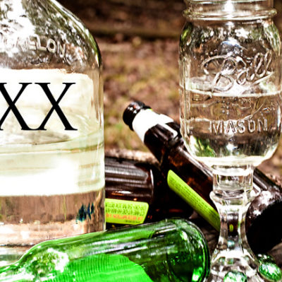 Mason Jar Wine Glasses, Yeehaw