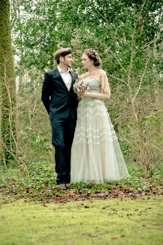 A Mythical Irish Wedding Shoot Glitter Inc