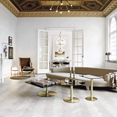 Luxe Black, White + Gold Loft