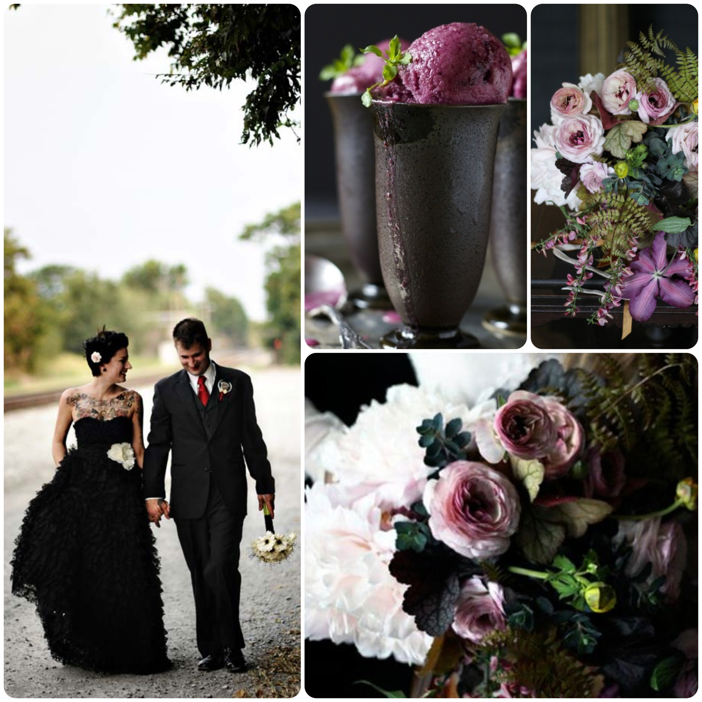 black wedding dress Archives