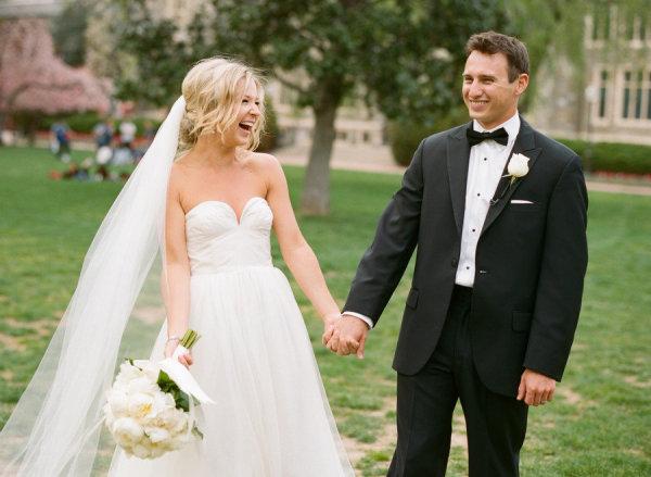 Via Style Me Pretty Wedding Photography Abby Jiu Dress JCrew