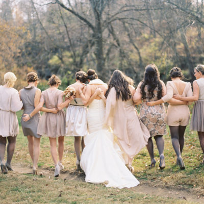 Mismatched Bridesmaid Fashion