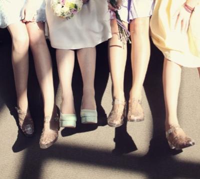 The Bridesmaids Wore Jellies