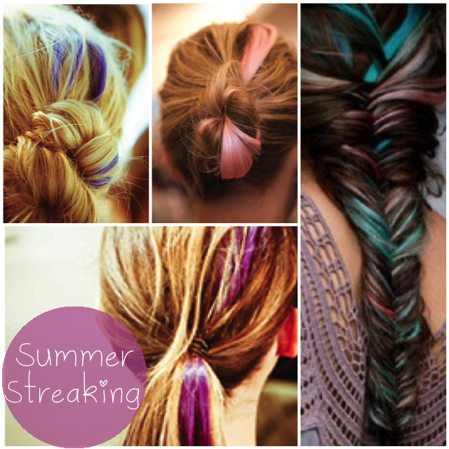 Summer Streaking Glitter Inc Glitter Inc