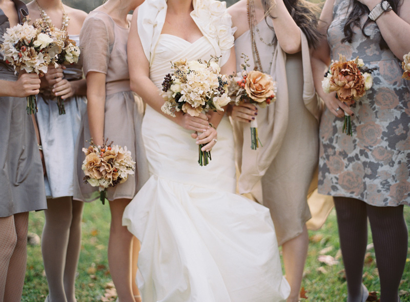Fall Wedding Bouquets Bridesmaids : Taupe archives glitter inc