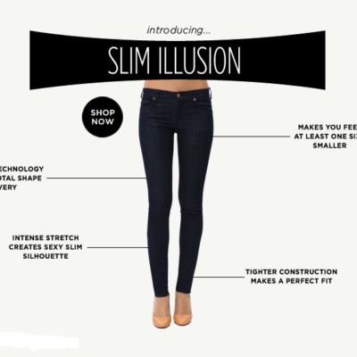 7 For All Mankind Slim Illusion; a.k.a. Spanx