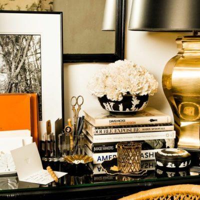 Black + Gold Interior Design
