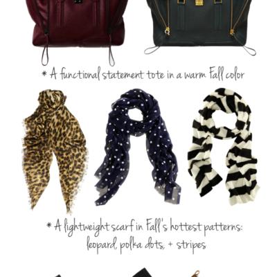 Transitioning A Summer Wardrobe Into Fall