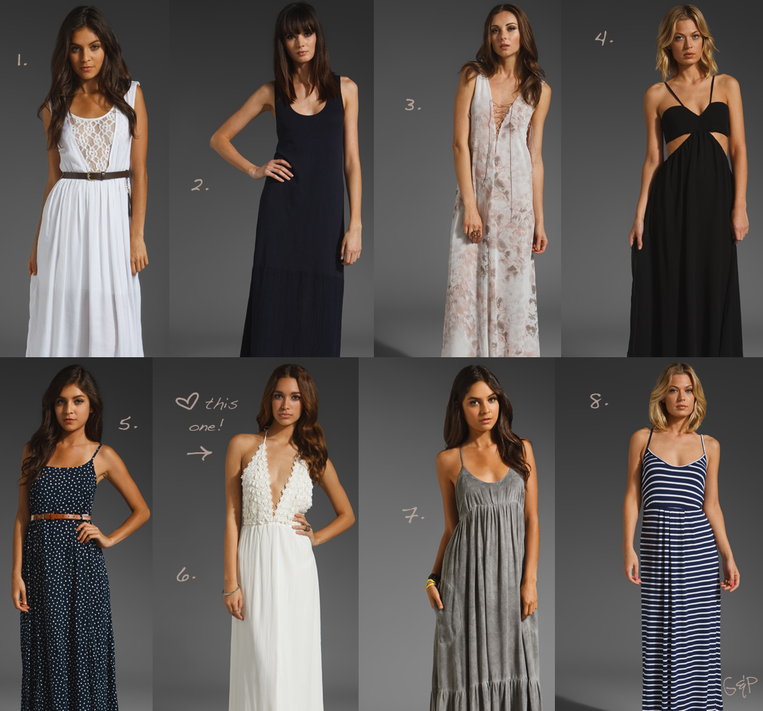 Long summer dresses: styles, photos, what to wear 44