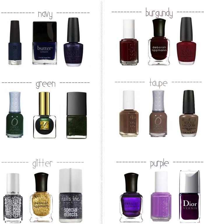 Nail Colors Youtube: Fall's Jewel Tone Nail Polish Picks