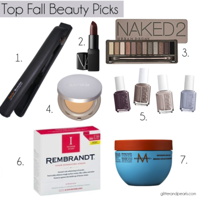 My Favorite Fall Beauty Trends