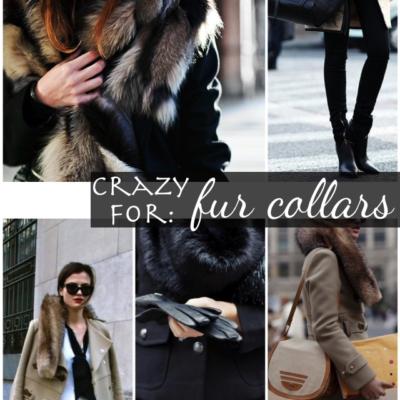 Trending: Fur Collars + Stoles