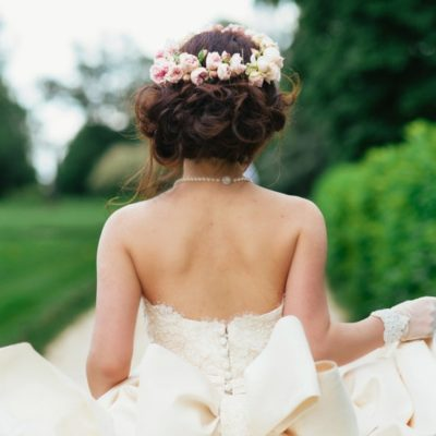 Picture Perfect: Tea Rose Crown