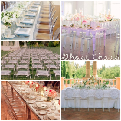 Wedding Venue Ghost Chairs