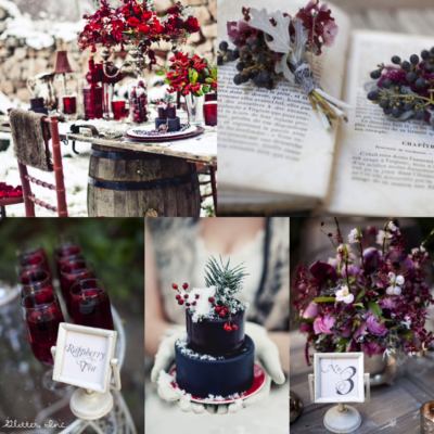 Inspiration Board: Winter Berry