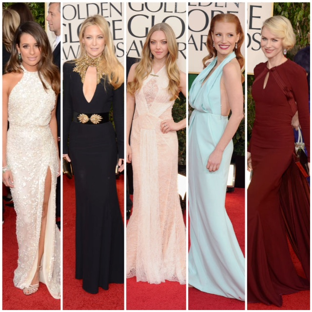 2013 golden globes fashion picks