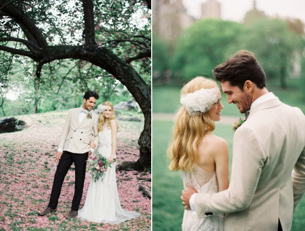 Jenny Packham wedding dress + Preston and Olivia headpiece 4