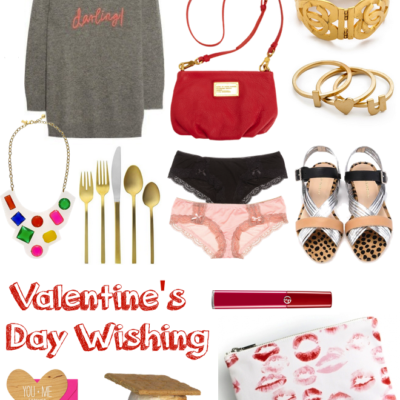 Valentine's Day {Wish} Gift List