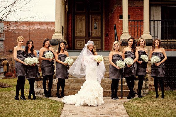 city glamorous wedding