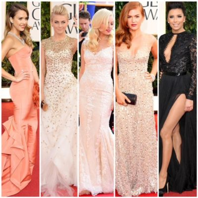 Dresses of the 2013 Golden Globes