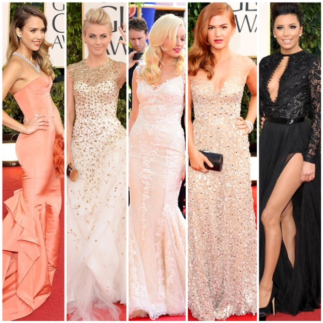 golden globes 2013 red carpet fashion _ glitterinc.com