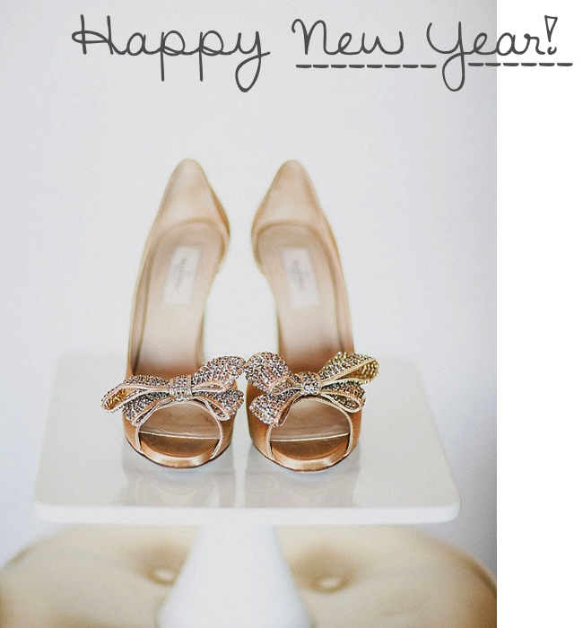 happy new year valentino gold sparkly bow heels _ glitterinc.com
