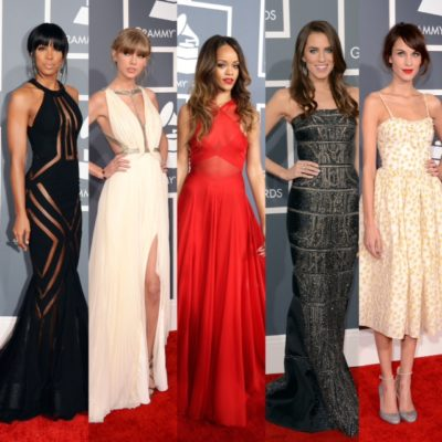 Dresses of the 2013 Grammys