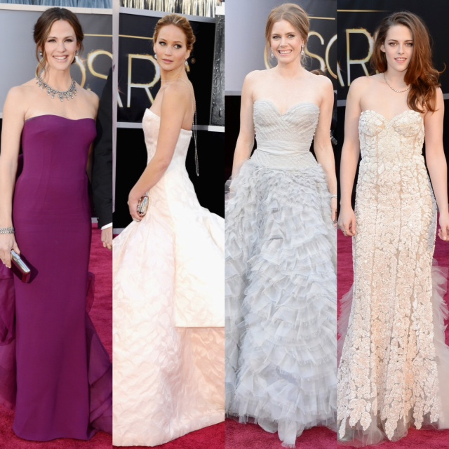 Oscars 2013 Red Carpet Best Dressed