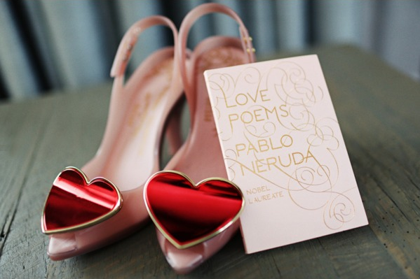 Vivienne Westwood red heart shoes
