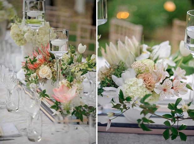 cream rustic wedding