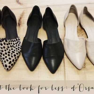 The Look for Less: d'Orsay Flats