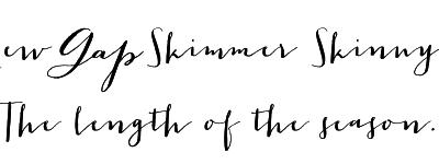 The New Gap Women's Skimmer