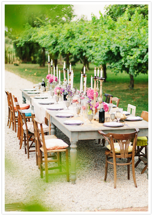 Elegant Bohemian Gypsy Dinner Party