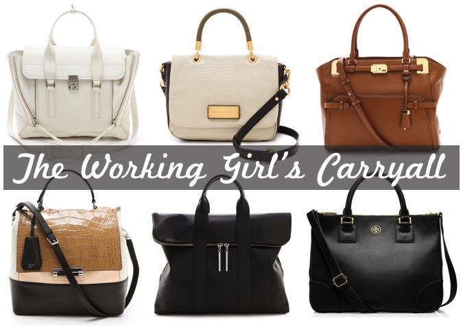 The Perfect Work Bag Glitter Inc