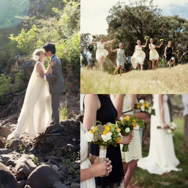 ethereal gauzy wedding dress _ glitterinc.com