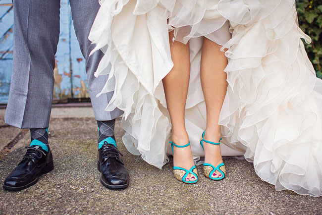 Via Green Wedding Shoes Photography Bradley James Kate Spade Corinne Sandals