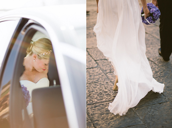 Ivy and Aster wedding dress Amalfi Coast photo