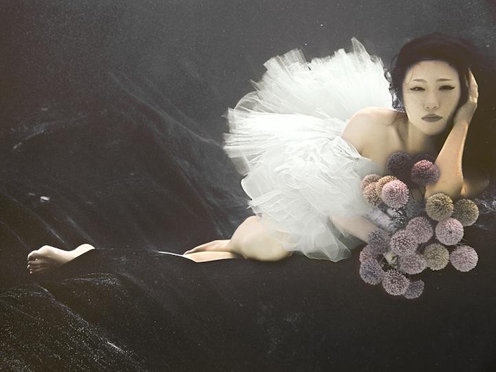 ada wang bride underwater dark